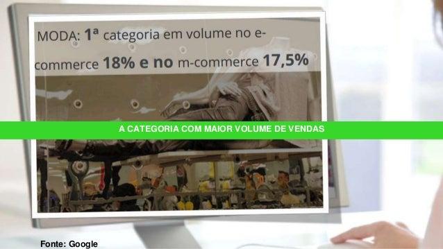A CATEGORIA COM MAIOR VOLUME DE VENDAS Fonte: Google
