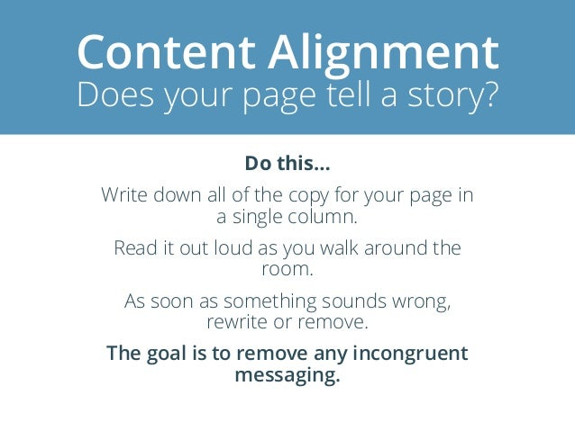 Incongruence Conversion killing copy Avoid mentioning negative suggestive words Spam