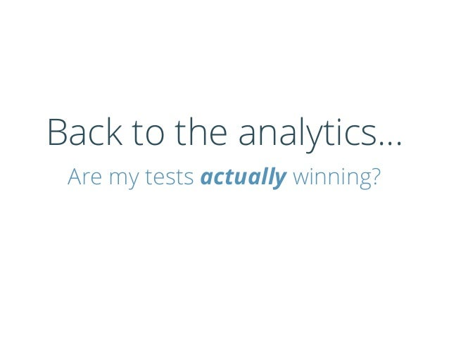 Can you always trust your test results?