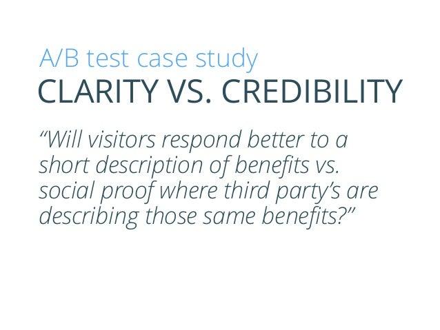 Clarity vs. Credibility