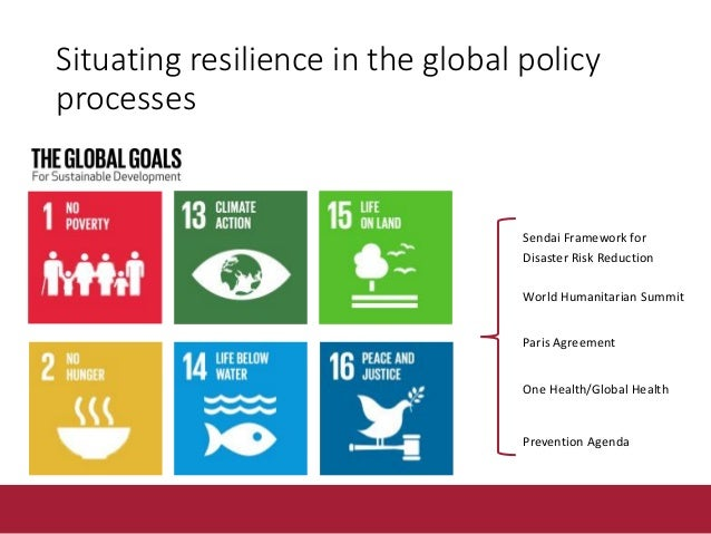 What is FAO resilience work? Of whom? The 2.5 billion smallholders worldwide who rely on renewable natural resources. The ...