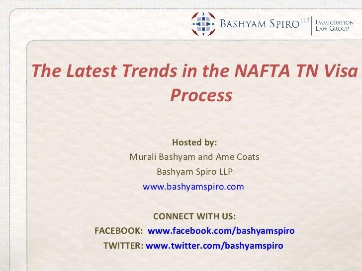 Webinar Latest Trends In TN Nafta Process