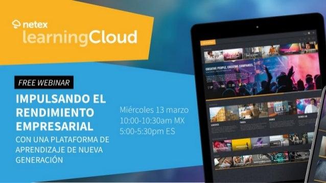 ME PRESENTO 18 años dedicado al e-learning y la formación Director de Desarrollo de Producto en Netex José Martín Lifelong...