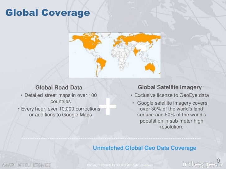 Leveraging Google Maps with Business Intellilgence