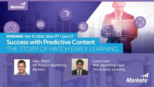 Success with Predictive Content: The Story of Hatch Early Learning