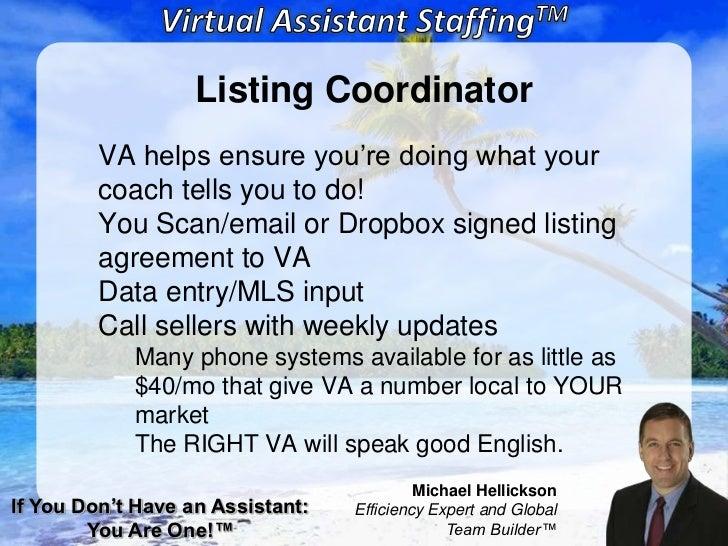 Webinar Master Real Estate Agents Virtual Assistant Staffing