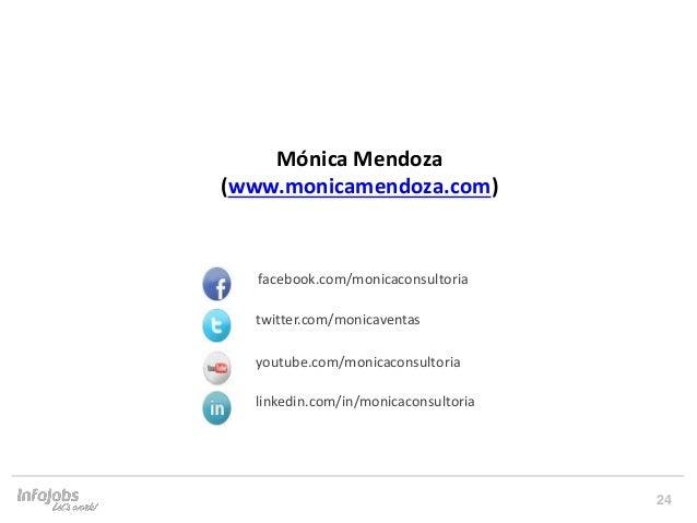 24 Prepara't per afrontar un Speed Networking facebook.com/monicaconsultoria twitter.com/monicaventas youtube.com/monicaco...