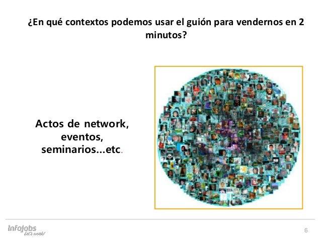 6 Prepara't per afrontar un Speed Networking Actos de network, eventos, seminarios…etc. ¿En qué contextos podemos usar el ...