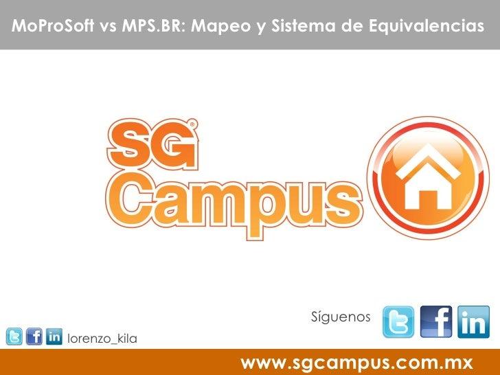 MoProSoft vs MPS.BR: Mapeo y Sistema de Equivalencias                                 Síguenos      lorenzo_kila          ...