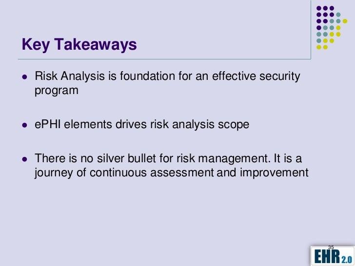 meaningful use risk analysis webinar