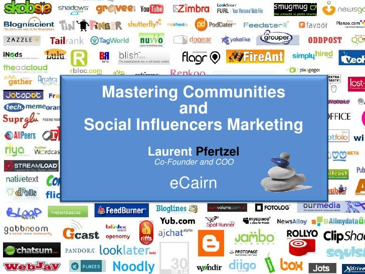 Mastering Communities                                     and                        Social Influencers Marketing         ...