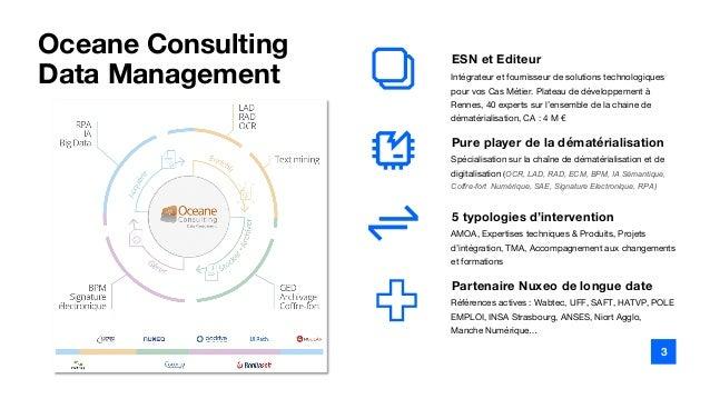 De la multiplicité des sources d'informations à la consolidation : avantages d'une plateforme Slide 3