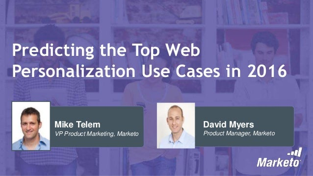 Predicting the Top Web Personalization Use Cases in 2016