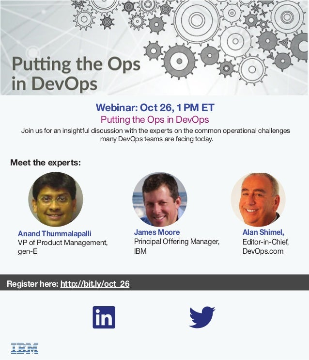 Join us for an insightful discussion with the experts on the common operational challenges many DevOps teams are facing to...