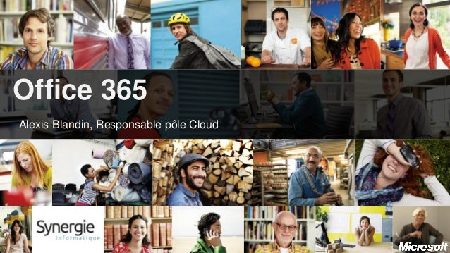 Office 365Alexis Blandin, Responsable pôle Cloud-