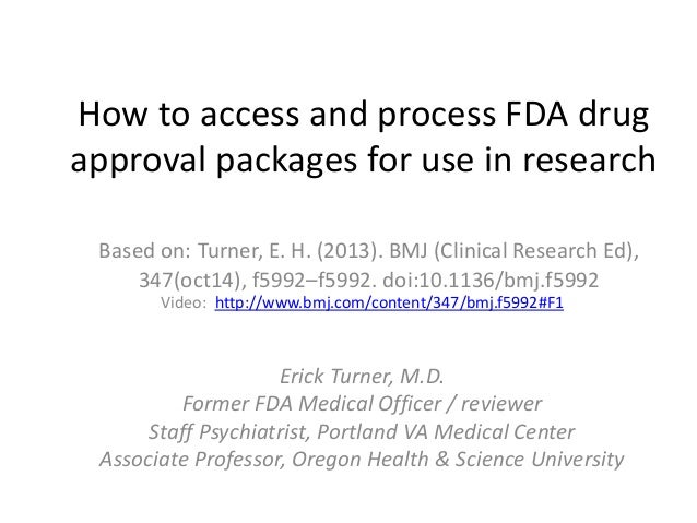 how to get fda approval