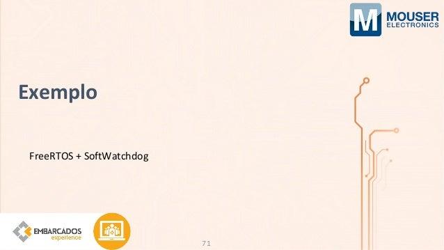 Exemplo FreeRTOS + SoftWatchdog 71