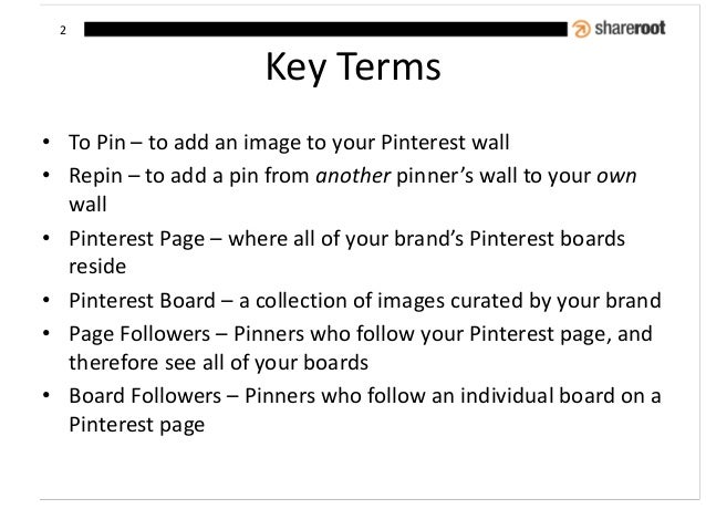Pin for the Win: How to Market Your Brand on Pinterest Slide 3