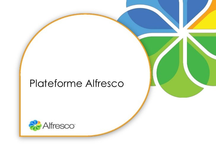Plateforme Alfresco