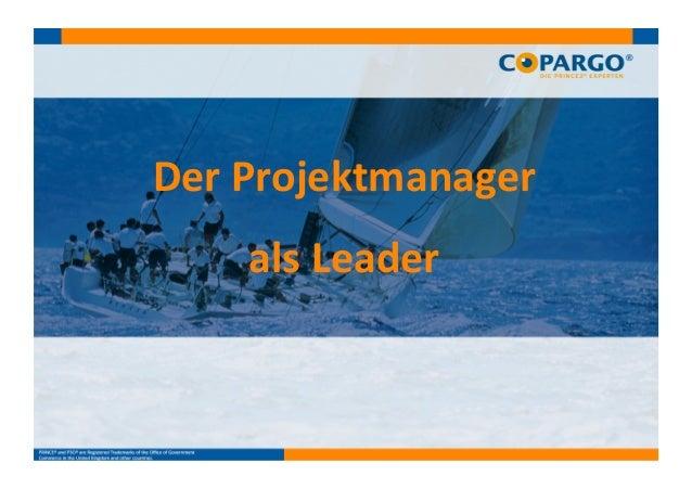 Der  Projektmanager     als  Leader