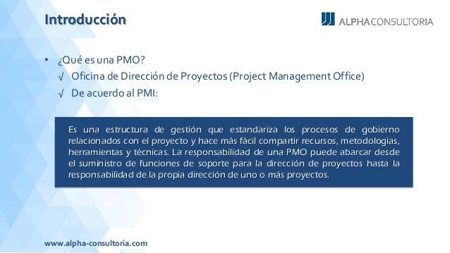 El papel de la oficina de proyectos en la implementaci n for Oficina de proyectos