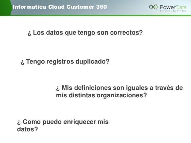 Informatica Cloud Customer 360 Slide 3