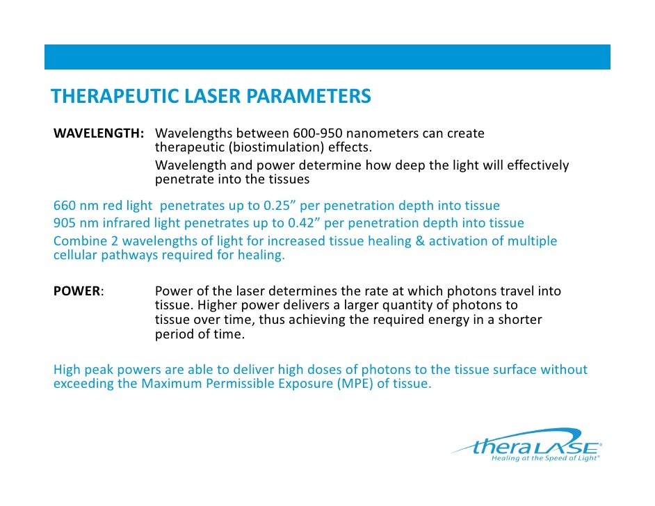 The Science Of Laser Therapy And Clinical Applications
