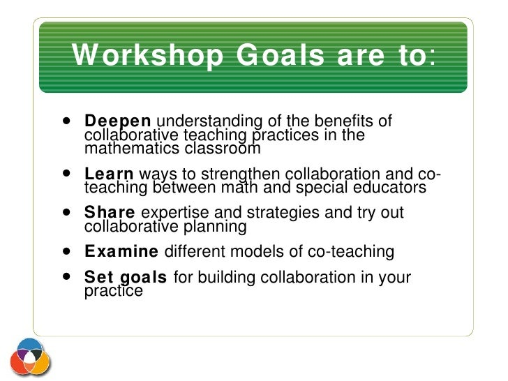 Collaborative Teaching Practices ~ Collaboration and co teaching workshop