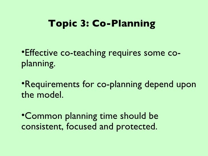 Collaborative Co Teaching Model ~ Collaboration and co teaching workshop