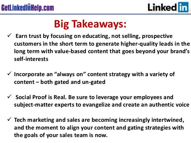 How to Gain the Trust of IT Buyers and Earn Leads That Convert