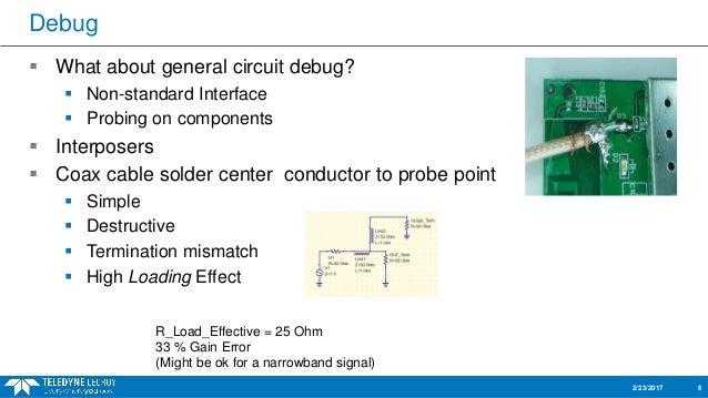 Circuit debugging tips