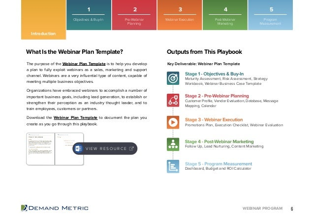 Webinar program playbook introduction 6 flashek Image collections