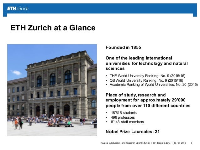 Reaxys in education and research at eth zurich eth zurich toneelgroepblik Images