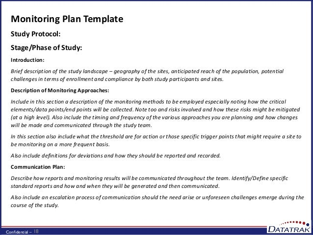 Webinar Risk Based Approaches To Clinical Monitoring on design brief template
