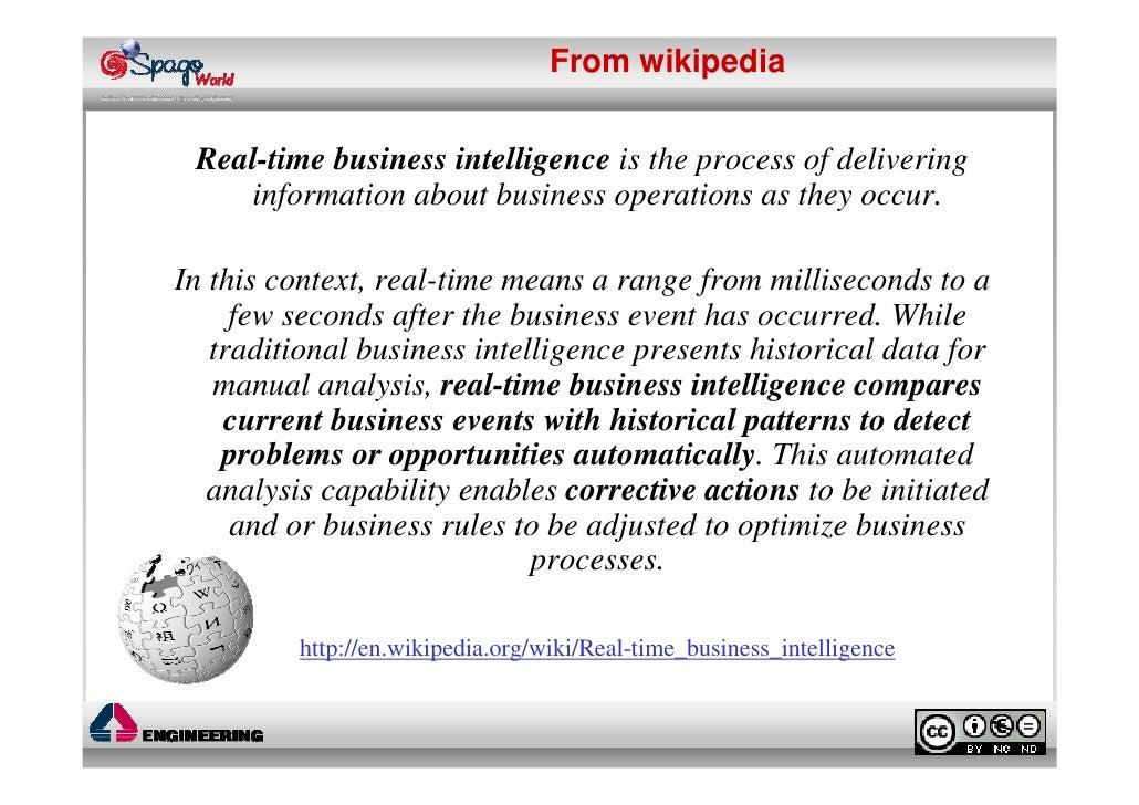 Webinar: Real-time Business Intelligence