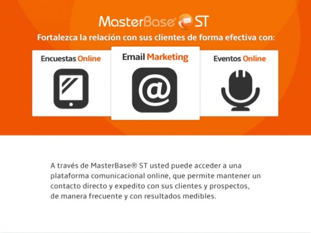 ¿Por qué  Email Marketing?  Copyright © 2014 MasterBase®. Todos los Webinar: 10 simples consejos para mejorar sus tasas de...