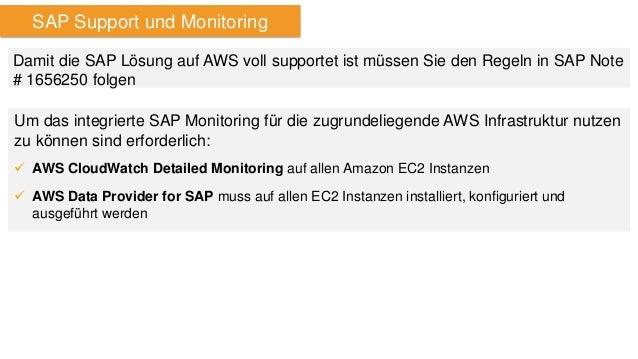 AWS Data Provider for SAP  Sammelt Performance- und Konfigurationsdaten aus EC2 APIs, EC2 Instance Metadata Service und AW...