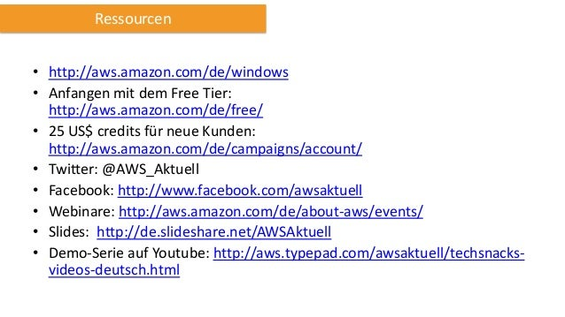 Webinar SAP Anwendungen auf AWS