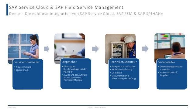 SAP Service Cloud & SAP Field Service Management © 2021 - IBsolution GmbH Demo – Die nahtlose Integration von SAP Service ...