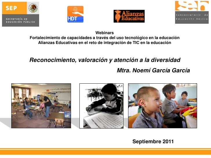 WebinarsFortalecimiento de capacidades a través del uso tecnológico en la educación    Alianzas Educativas en el reto de i...