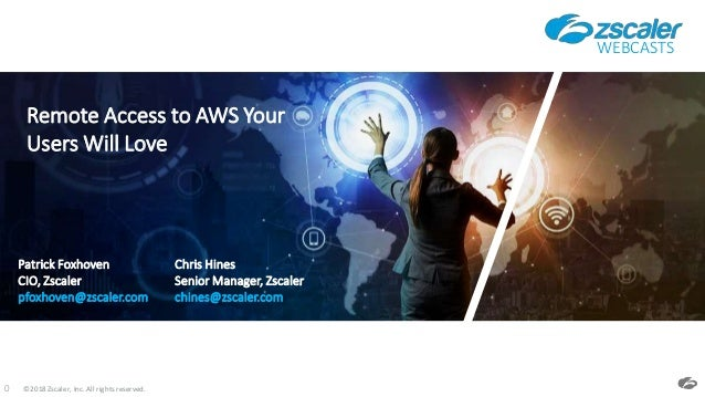 Secure remote access to AWS your users will love