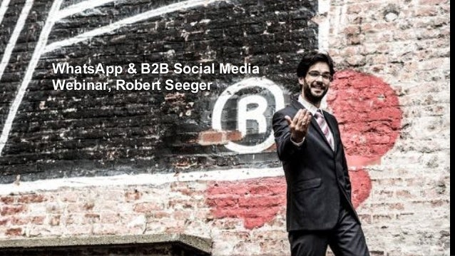 WhatsApp & B2B Social Media