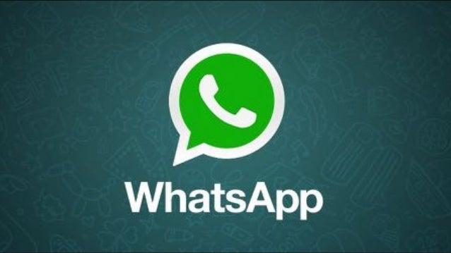 WhatsApp und B2B Social Media Marketing 2016 Slide 3
