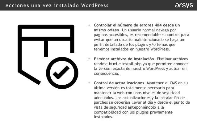 Webinar - Seguridad en WordPress