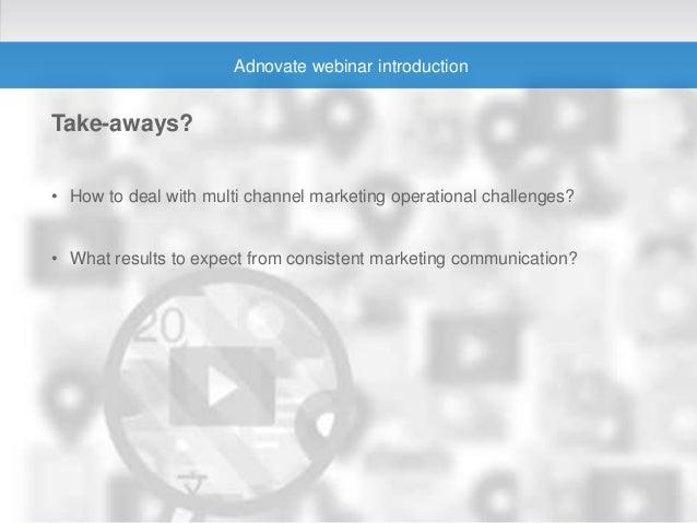 Multi Channel Marketing Operation - Webinar Digital Summer School Slide 2