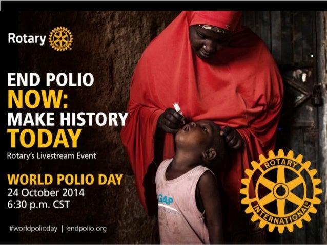 celebrate world polio day 2014