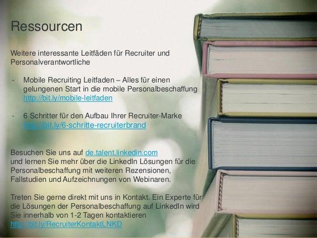 Weitere interessante Leitfäden für Recruiter und Personalverantwortliche - Mobile Recruiting Leitfaden – Alles für einen g...