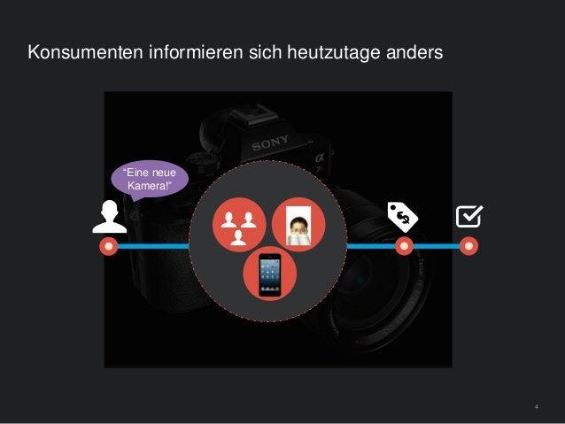 """4 Konsumenten informieren sich heutzutage anders """"Eine neue Kamera!"""""""