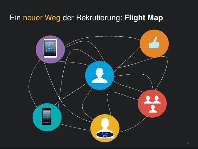 6 Ein neuer Weg der Rekrutierung: Flight Map Firma XYZ