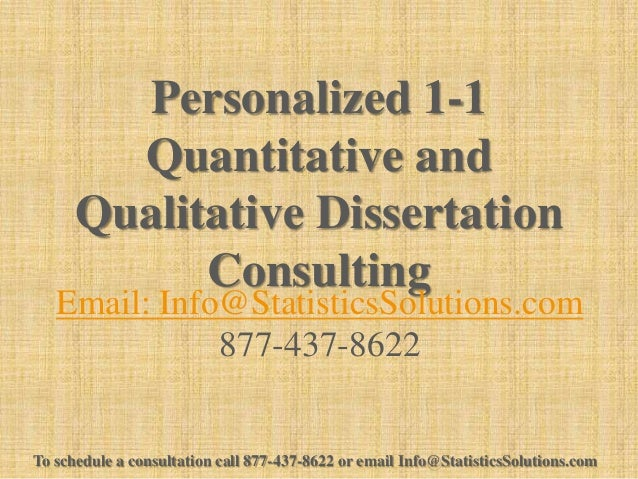 dissertation consultation service du